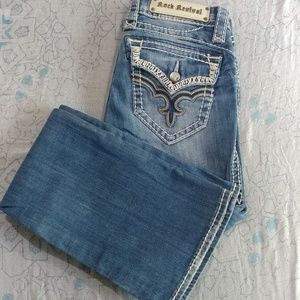 Rock Revival May easy boot cut jeans 2058